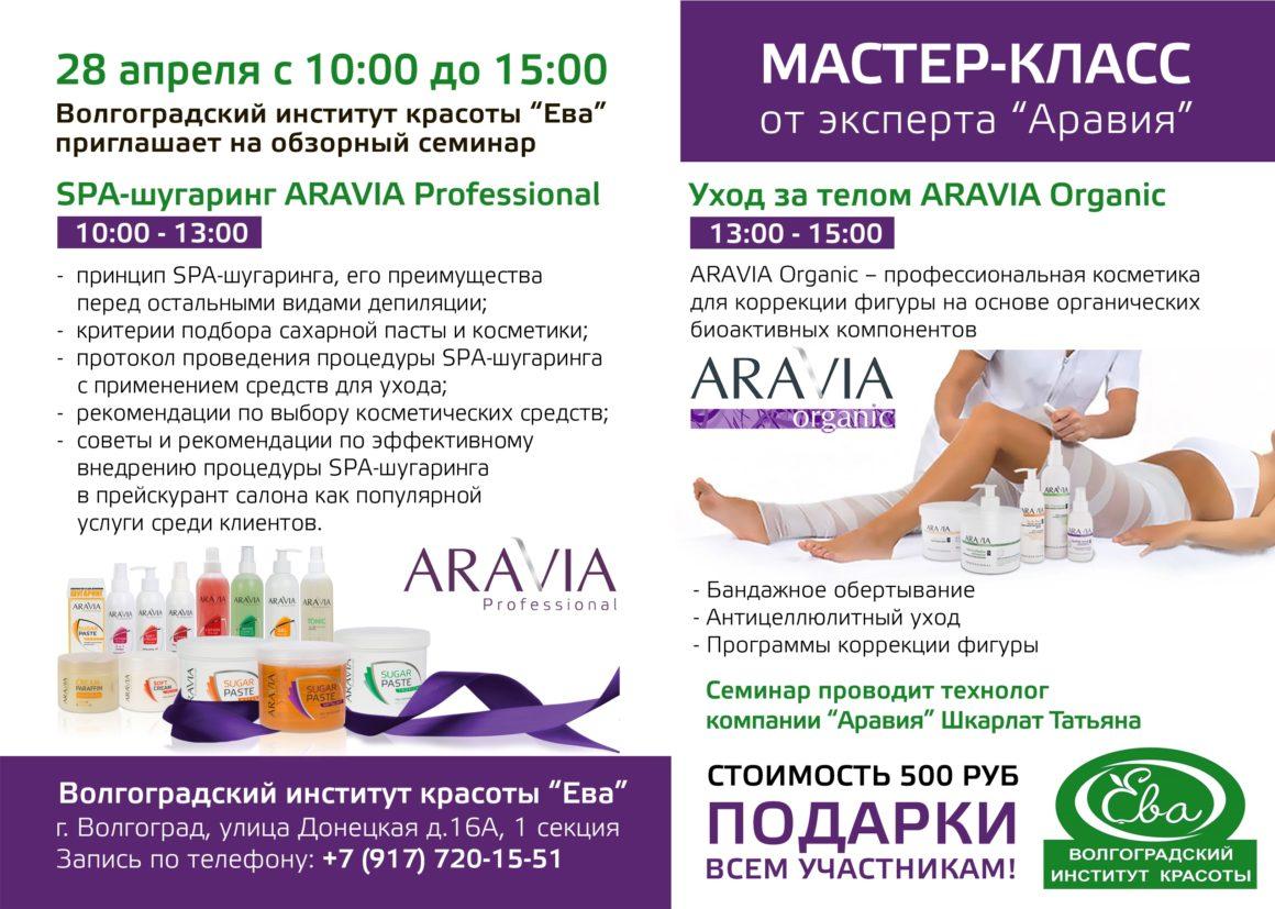 Уход за телом Aravia Organic